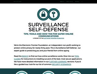 ssd.eff.org screenshot