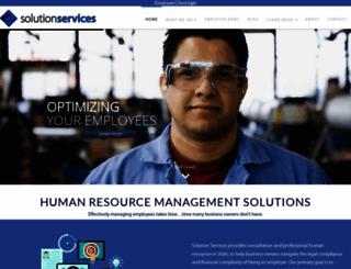 ssihr.com screenshot