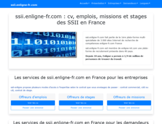 ssii.enligne-fr.com screenshot