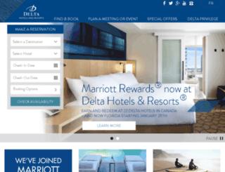 ssl.deltahotels.com screenshot
