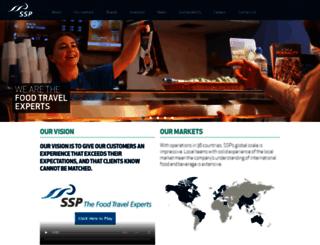 ssp-intl.com screenshot