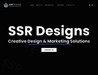 ssrdesigns.co.za screenshot