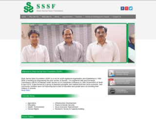 sssf.org.pk screenshot