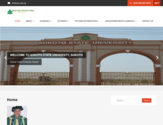 ssu.edu.ng screenshot