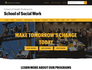 ssw.missouri.edu screenshot
