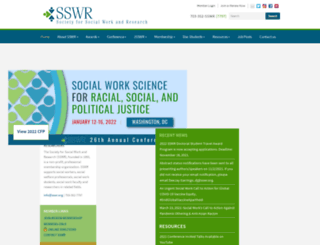 sswr.org screenshot