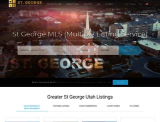 st-george-realestate.com screenshot