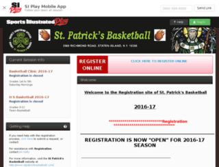 st-patrick-s-basketball.sportssignupapp.com screenshot