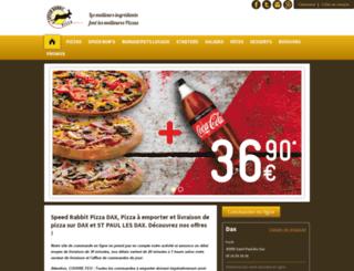st-paul-les-dax.speedrabbitpizza.com screenshot