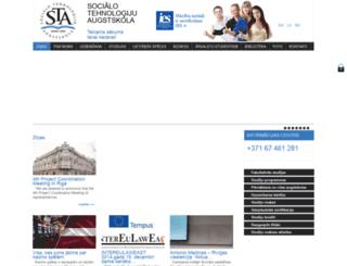sta-edu.lv screenshot