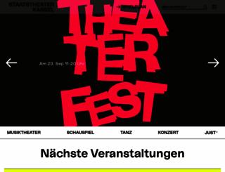 staatstheater-kassel.de screenshot