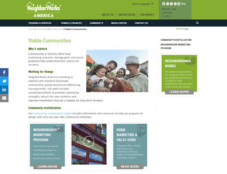 stablecommunities.org screenshot