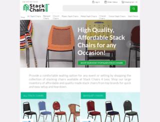 stackchairs4less.com screenshot