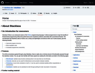 stackless.com screenshot