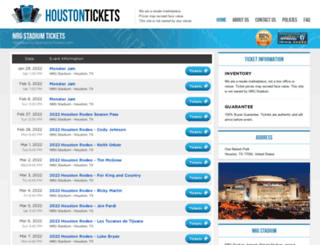 stadiumhouston.com screenshot