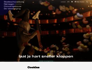 stadsschouwburgendevereeniging.nl screenshot