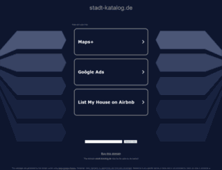 stadt-katalog.de screenshot