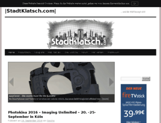 stadtklatsch.com screenshot