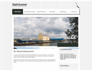 stadtscanner.de screenshot
