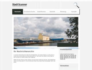 stadtscanner.de screenshot