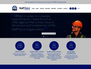 staff-force.com screenshot