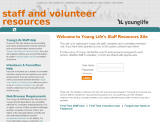 staff.younglife.org screenshot