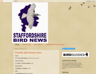 staffordshirebirding.blogspot.co.uk screenshot