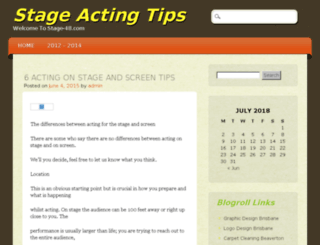 stage-48.com screenshot