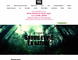 stage-de-survie-nature.com screenshot