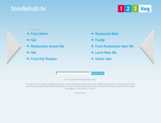 stage1.foodiehub.tv screenshot