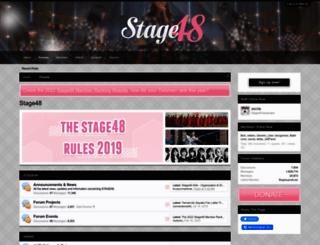 stage48.net screenshot
