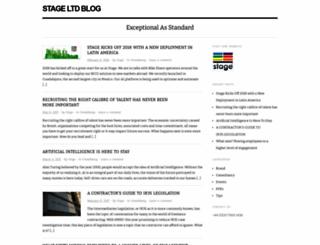 stageltd.wordpress.com screenshot