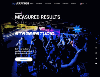 stagesindoorcycling.com screenshot