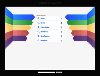 staging-web.personalnovel.net screenshot