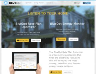 staging.bluedot.com screenshot