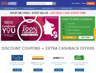 staging.cashkaro.com screenshot