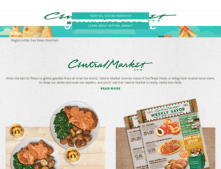 staging.centralmarket.com screenshot