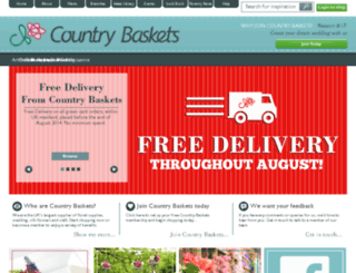 staging.countrybaskets.co.uk screenshot