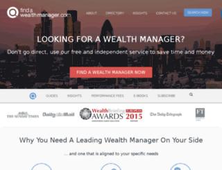 staging.findawealthmanager.com screenshot