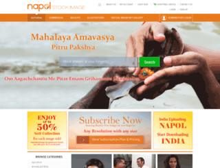 staging.napolstockimage.com screenshot