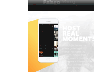 staging.pelago.events screenshot