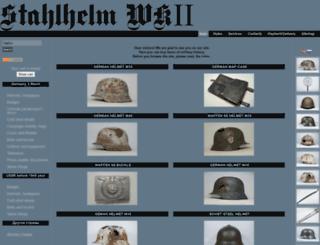 stahlhelmwk2.com screenshot