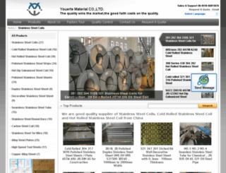 stainless-steelcoils.com screenshot