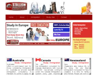 stallionimmigration.com screenshot