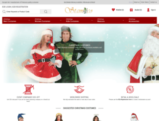 stamco-costumes.com screenshot