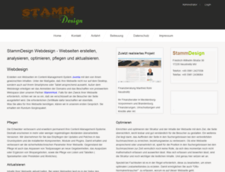 stamm-design.de screenshot