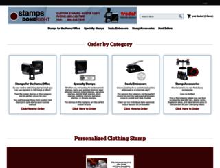 stampsdoneright.com screenshot