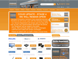 standard.com.au screenshot