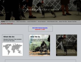 standardschnauzer.org screenshot