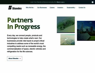 standex.com screenshot